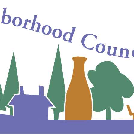 detail of North Hill Neighborhood Council logo