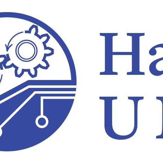 detail of Hanshaw Virtual University logo