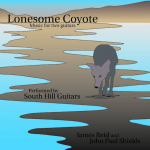 Lonesome Coyote CD cover: South Hill Guitars