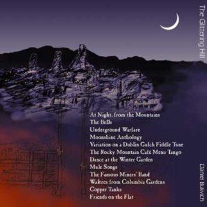 Detail of The Glittering Hill CD artwork
