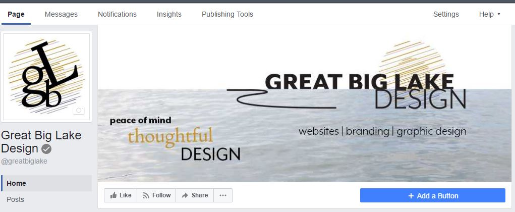 Image of Great Big Lake Design Facebook page