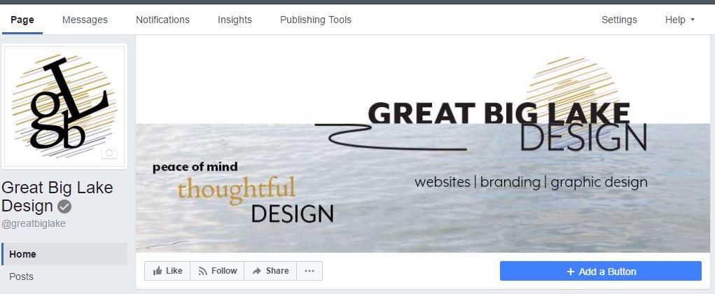 Image of Great Big Lake Design Facebook page