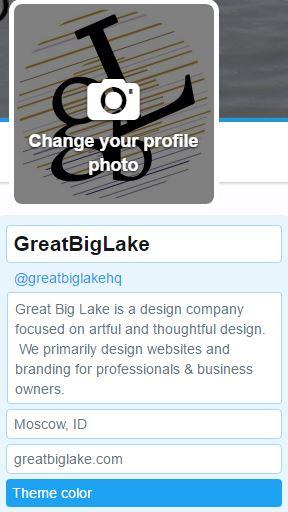 Twitter Update Profile Image