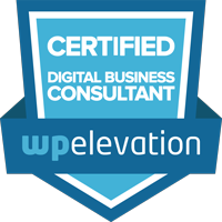 Certified Digital Business Consultant, WP Elevation